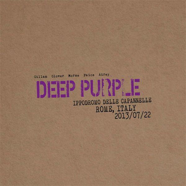 DEEP PURPLE LIVE IN ROME 2013 2LP COLORED VINYL