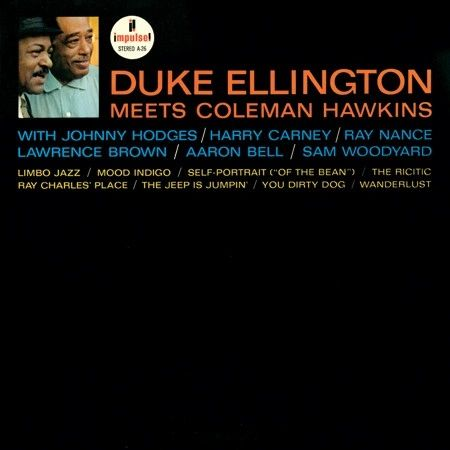 DUKE ELLINGTON AND COLEMAN HAWKINS DUKE ELLINGTON MEETS COLEMAN HAWK 180G 45RPM 2LP