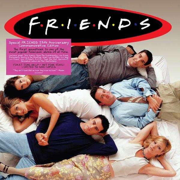 FRIENDS SOUNDTRACK 2LP COLORED VINYL (UK RELEASE)