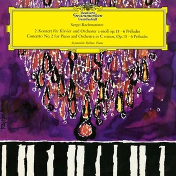 RACHMANINOV PIANO CONCERTO NO. 2 (SVIATOSLAV RICHTER) 180G