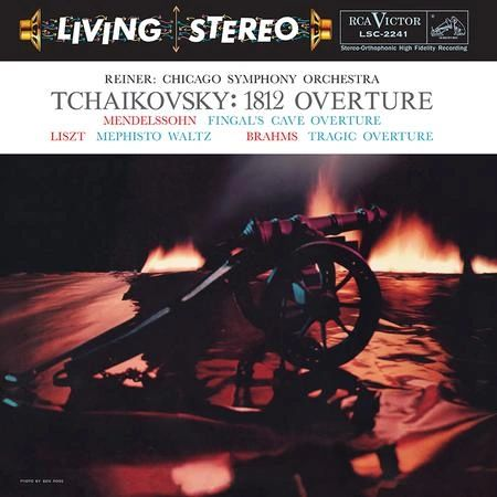 FRITZ REINER TCHAIKOVSKY : 1812 OVERTURE (CHICAGO SYMPHONY ORCHESTRA) 200G