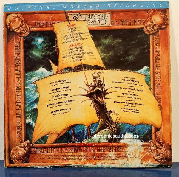 JETHRO TULL BROADSWORD & THE BEAST VG/VG