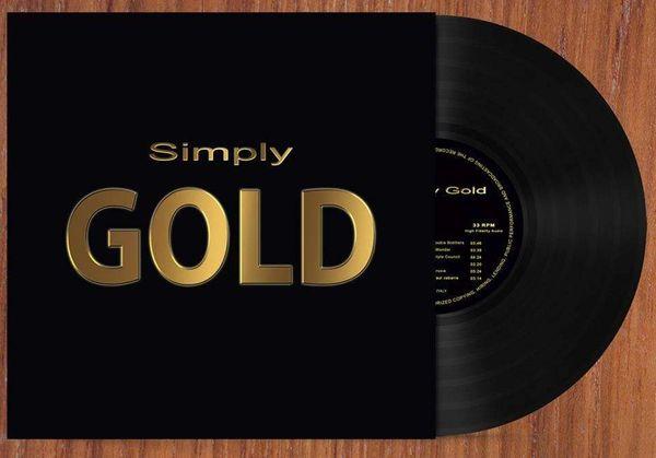 VARIOUS ARTIST SIMPLY GOLD LP