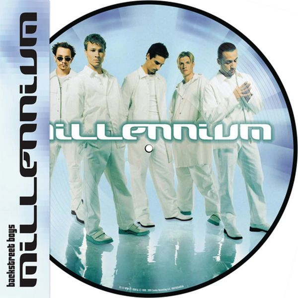 BACKSTREET BOYS MILLENIUM LP PICTURE DISC