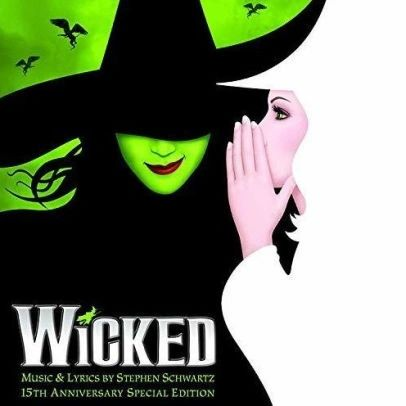 WICKED ORIGINAL BROADWAY CAST 15TH ANNIVERSARY 2LP