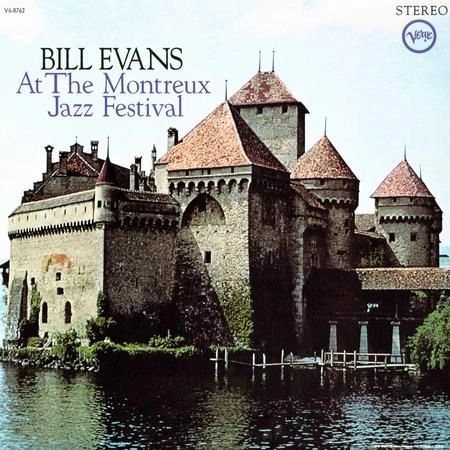 BILL EVANS AT THE MONTREUX JAZZ FESTIVAL 200G 45RPM 2LP