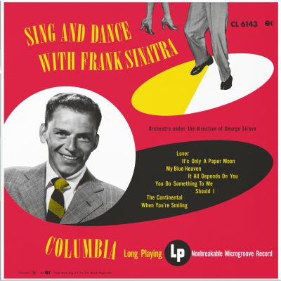FRANK SINATRA SING AND DANCE WITH FRANK NUMBERED LIMITED EDITION 180G (MONO)
