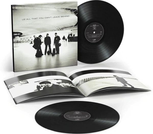 U2 ALL THAT YOU CAN'T LEAVE BEHIND 20TH ANNIVERSARY 180G 2LP