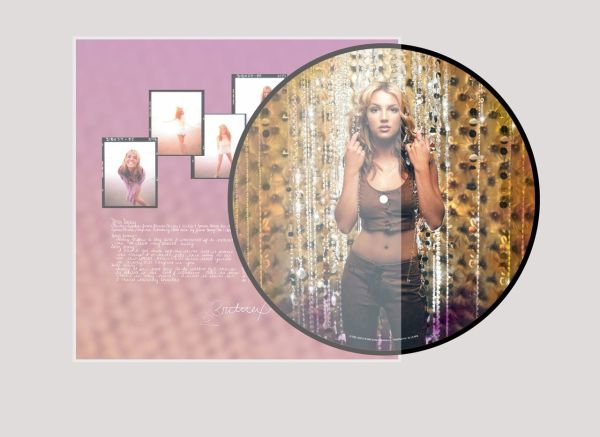 BRITNEY SPEARS OOPS I DID IT AGAIN PICTURE DISC