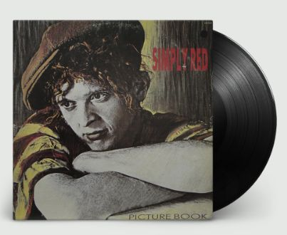 SIMPLY RED PICTURE BOOK LIMITED EDITION CLASSIC LP
