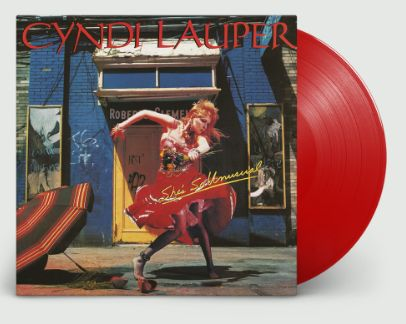 CYNDI LAUPER SHE'S SO UNUSUAL LIMITED EDITION COLORED VINYL
