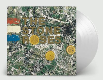 STONE ROSES STONES ROSES LIMITED EDITION CLEAR LP