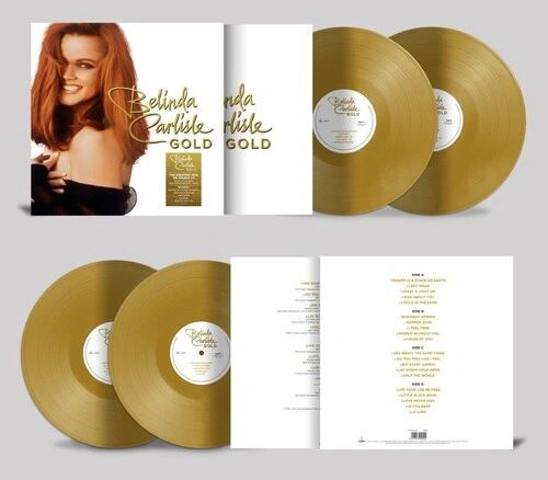 BELINDA CARLISLE GOLD 180G 2LP GOLD VINYL