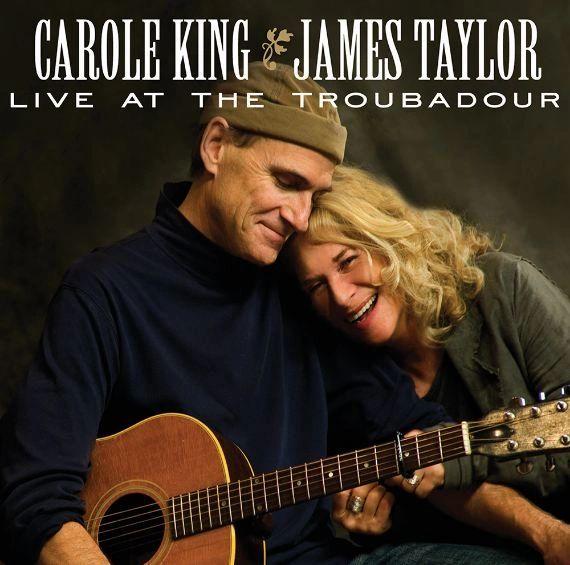 JAMES TAYLOR & CAROLE KING LIVE AT THE TROUBADOR 180G 2LP (APRIL 2021)