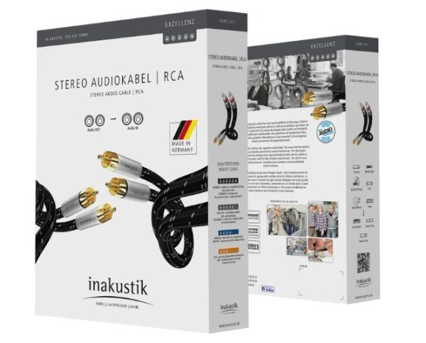 INAKUSTIK EXCELLENCE AUDIO CABLE, 1.5M