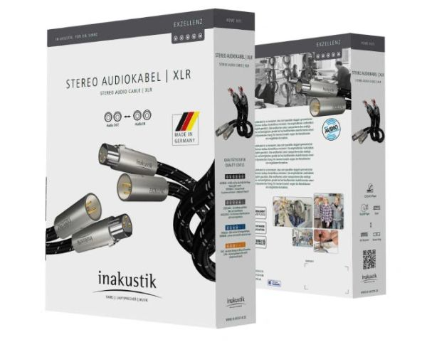 INAKUSTIK EXCELLENCE AUDIO CABLE XLR, 1.5M