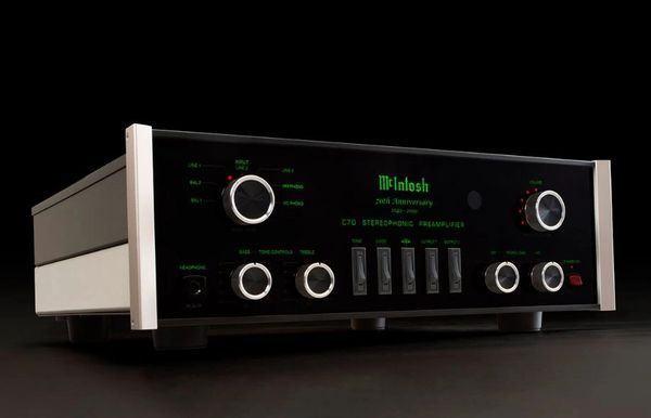 MCINTOSH C70 70TH ANNIVERSARY 2-CHANNEL VACUUM TUBE PREAMPLIFIER
