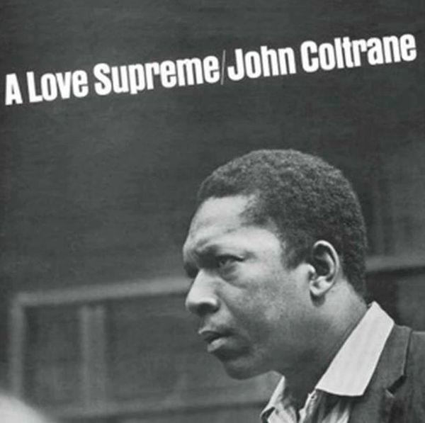 JOHN COLTRANE A LOVE SUPREME CLEAR VINYL WITH BLACK SWIRLS