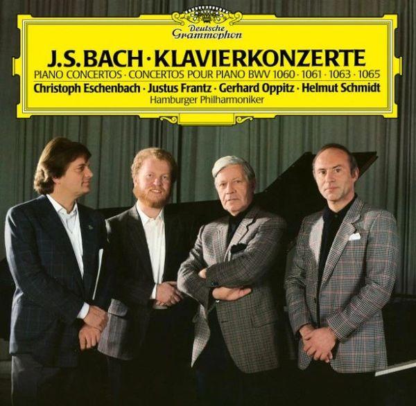 J.S. BACH PIANO CONCERTOS BWV 1060, 1061, 1063, 1065 LP