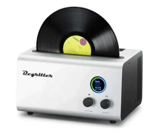 DEGRITTER RECORD CLEANING MACHINE