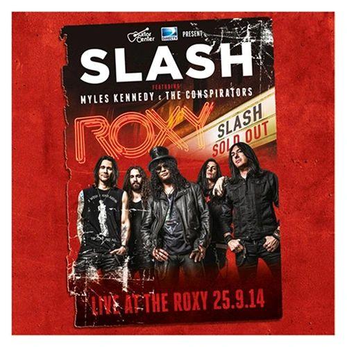 SLASH LIVE AT THE ROXY 180G 3LP