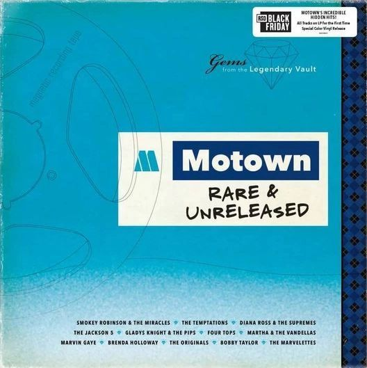 VARIOUS ARTISTS MOTOWN RARE & UNRELEASED LIMITED EDITION