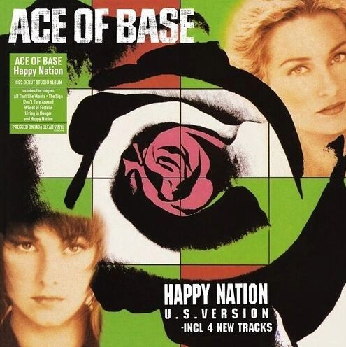 ACE OF BASE HAPPY NATION 140G CLEAR LP