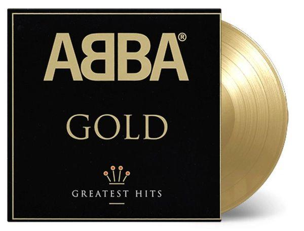 ABBA GOLD 180G GOLD LP