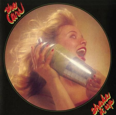 THE CARS SHAKE IT UP NEON GREEN LP