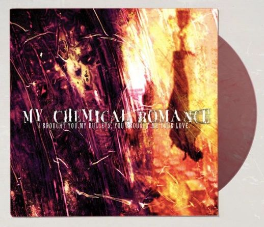 MY CHEMICAL ROMANCE I BROUGHT YOU MY BULLETS, YOU BROUGHT ME YOUR LOVE SMOKEY RED LP