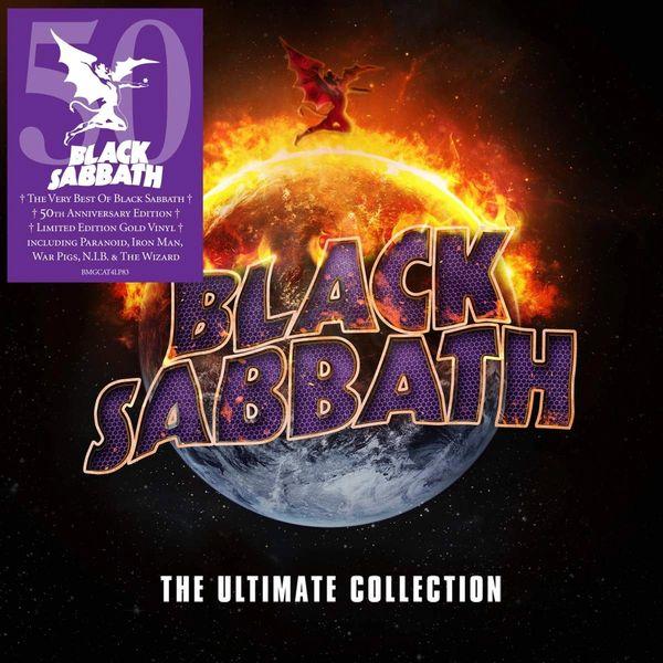 BLACK SABBATH THE ULTIMATE COLLECTION 4LP 180G GOLD VINYL 50TH ANNIVERSARY EDITION