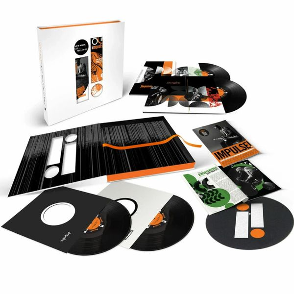IMPULSE RECORDS: MUSIC, MESSAGE AND THE MOMENT NUMBERED LIMITED EDITION 4LP BOXET