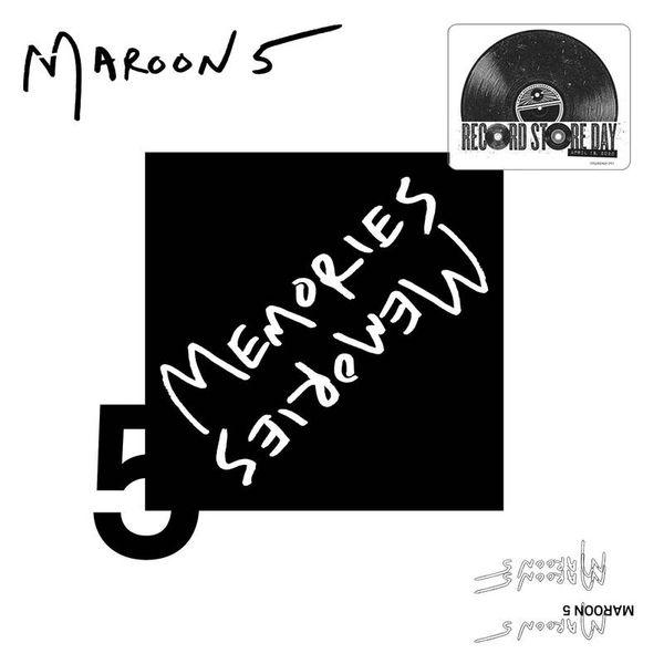 "MAROON 5 MEMORIES RSD 2020 LIMITED EDITION 7"" VINYL"