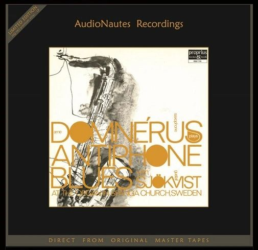 ARNE DOMNERUS ANTIPHONE BLUES NUMBERED LIMITED EDITION 180G