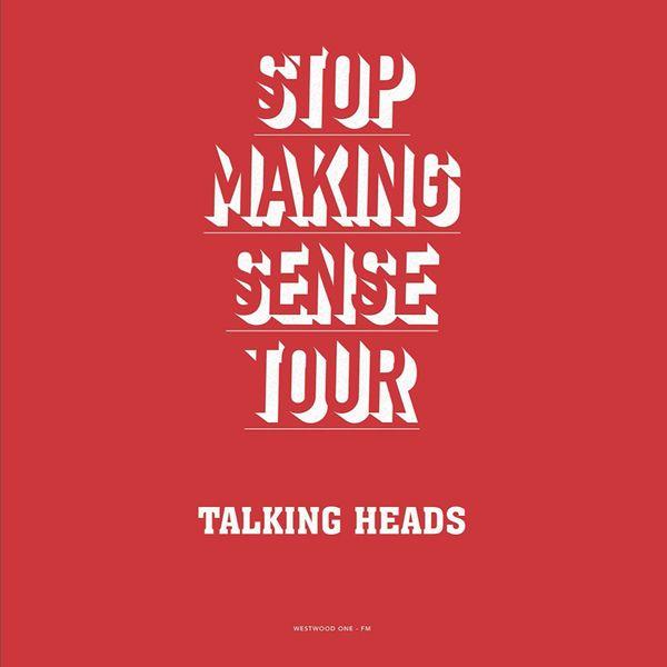 TALKING HEADS STOP MAKING SENSE TOUR