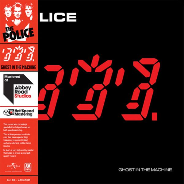 THE POLICE GHOST IN THE MACHINE HALF-SPEED MASTERED 180G