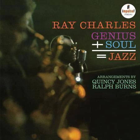 RAY CHARLES GENIUS + SOUL = JAZZ 180G ( VERVE ACOUSTIC SOUND SERIES )