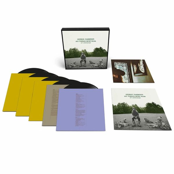 GEORGE HARRISON ALL THINGS MUST PASS 180G 5LP BOX SET