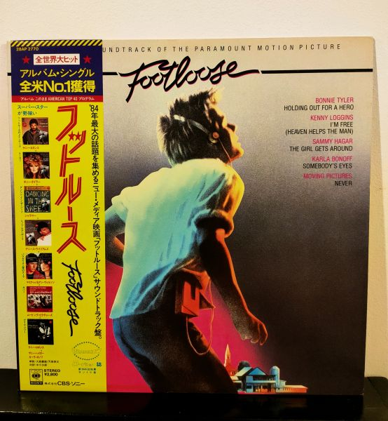 FOOTLOOSE OST WITH OBI NM / NM