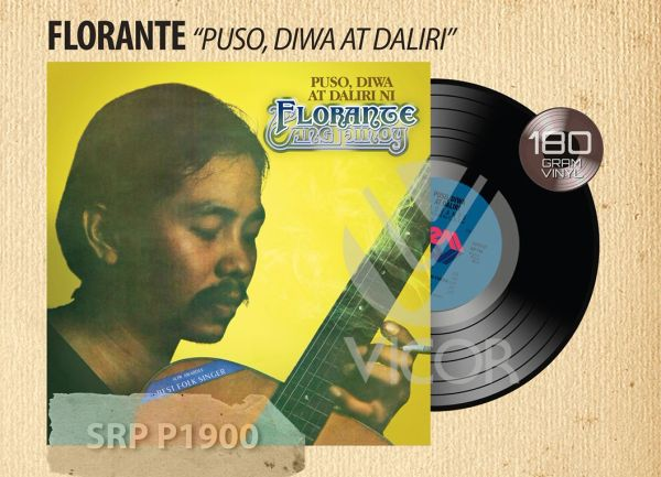 FLORANTE PUSO, DIWA AT DALIRI 180G REISSUE