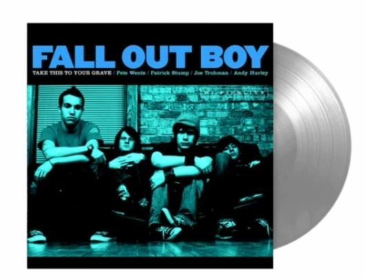 FALL OUT BOY TAKE THIS TO YOUR GRAVE SILVER VINYL