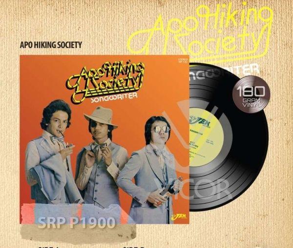 APO HIKING SOCIETY SONGWRITER 180G REISSUE