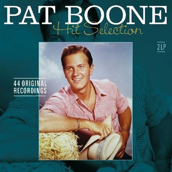 PAT BOONE HIT SELECTION 44 ORIGINAL RECORDINGS 2LP