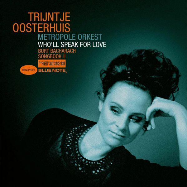 TRIJNTJE OOSTERHUIS WHO'LL SPEAK FOR LOVE (BACHARACH SONGBOOK II) NUMBERED LIMITED EDITION 180G ORANGE LP