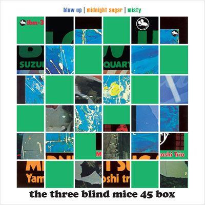THE THREE BLIND MICE 45 BOX 180G 45RPM 6LP BOXSET