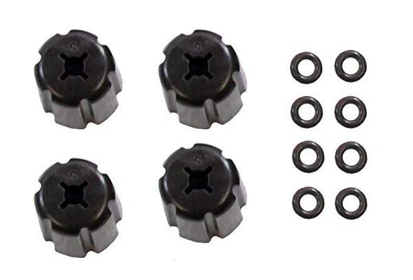 DIY caps and o-rings Monroe-style shocks
