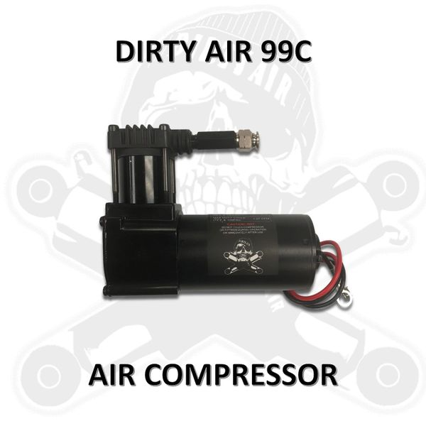 DIRTY AIR BLACK 99C COMPRESSOR 200PSI