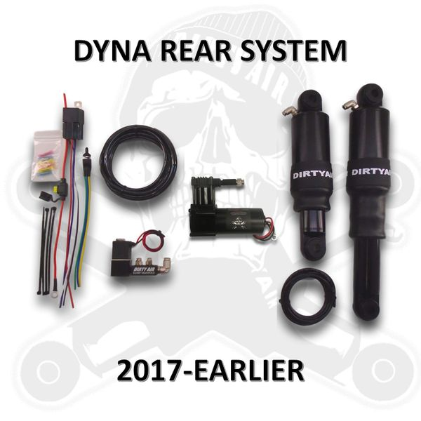 DIRTY AIR Rear DYNA Air Suspension System