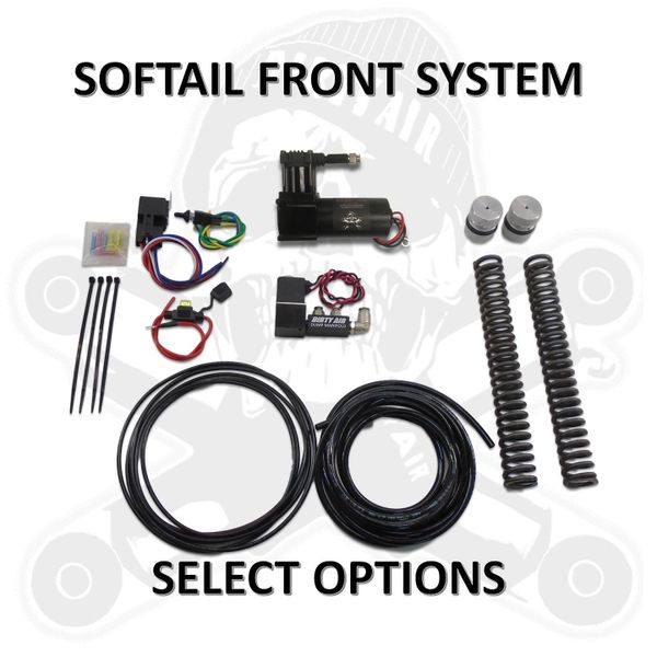DIRTY AIR Front Air Ride Kit - SOFTAIL