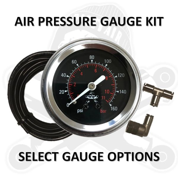 • DIRTY AIR Pressure Gauge Kit